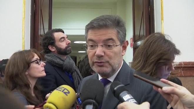 El ministro de Justicia ha asegurado hoy que no prevé ninguna dificultad para la extradición de la exdiputada de la CUP, Anna Gabriel.