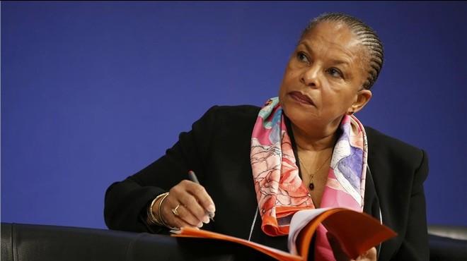 Dimite la ministra francesa de Justicia por la política antiterrorista de Hollande