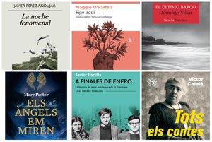 250 libros recomendados (por géneros) para acertar en Sant Jordi 2019