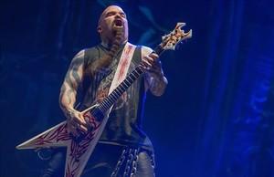Concierto de Slayer en el Primavera Sound.