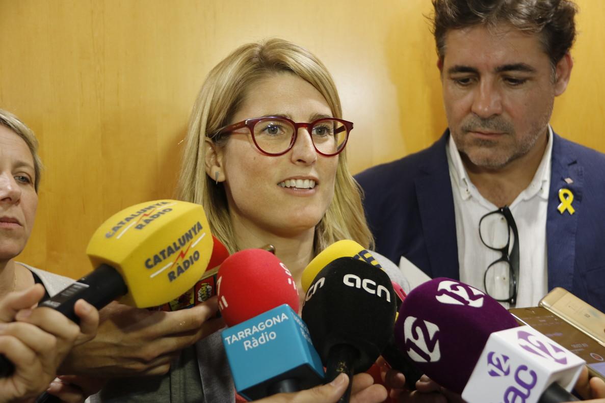 La consellera de Presidència, Elsa Artadi.