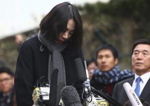 Cho Hyun-Ah, la hija mayor del presidente de Korean Air Cho Yang-Ho y exvicepresidenta de la compañía aérea.
