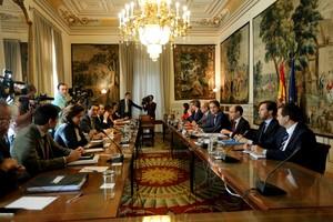 El Secretario de Estado de Administraciones Territoriales, Roberto Bermúdez de Castro, preside la Reunión de la Comisión General de Secretarios de Estado y Subsecretarios, este sábado