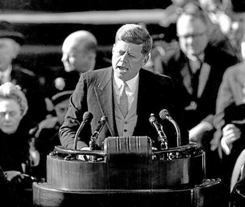 John Fitzgerald Kennedy, en un discurso en 1961.