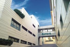 Edificio de laboratorios Esteve, una de las empresas que encabezan la lista de solicitudes de patentes.