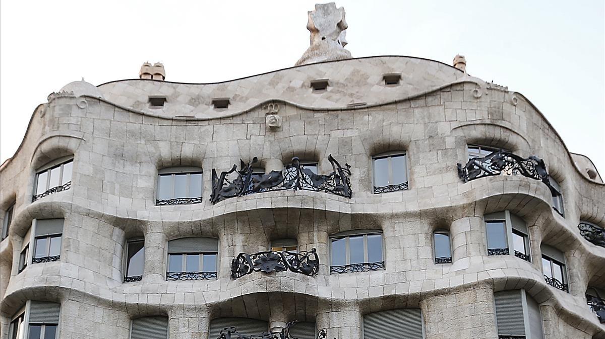 El edificio de la Pedrera.