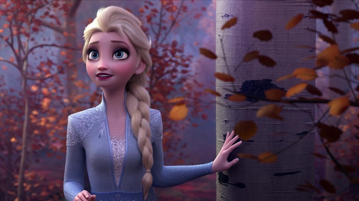 Cambios en Elsa en la segunda parte de Frozen