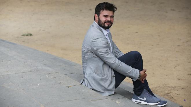 Rufián: «Votar En Comú es rendirse, no enfrentarte a la realidad».