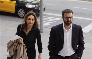 El exdirector de los Mossos, Manel Prat, a su llegada al juicio por el caso Ester Quintana.