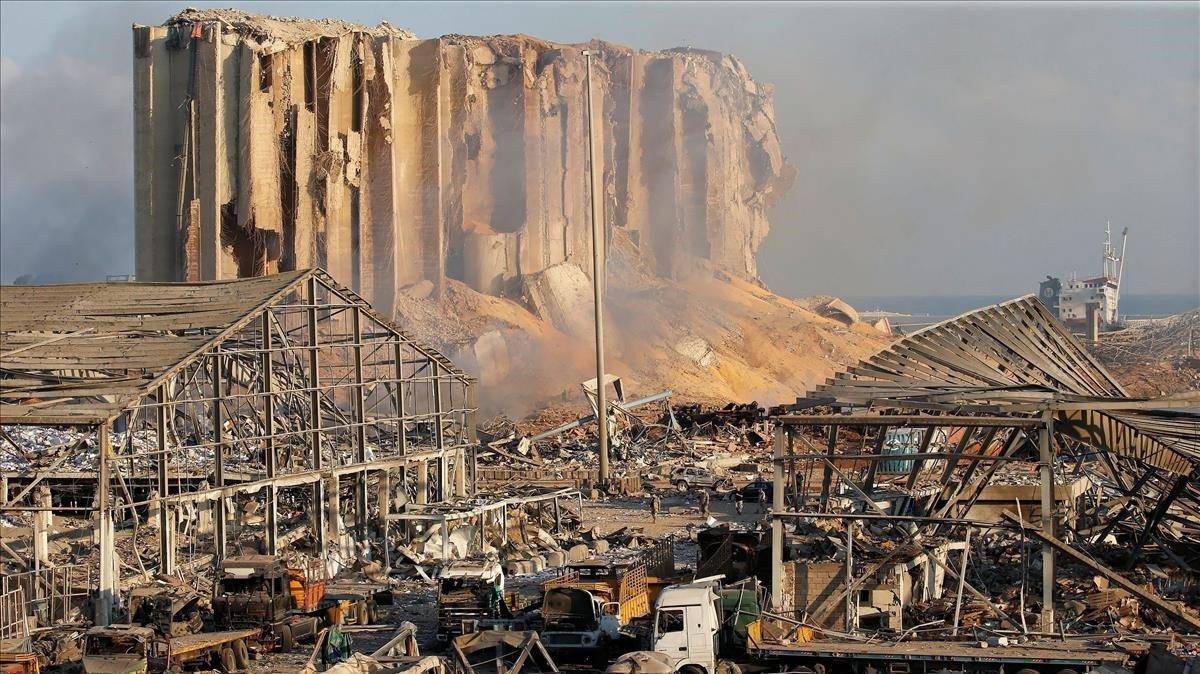 Explosión catastrófica en Beirut