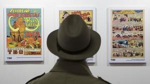 Exposición sobre el TBO en el Salón del Cómic.