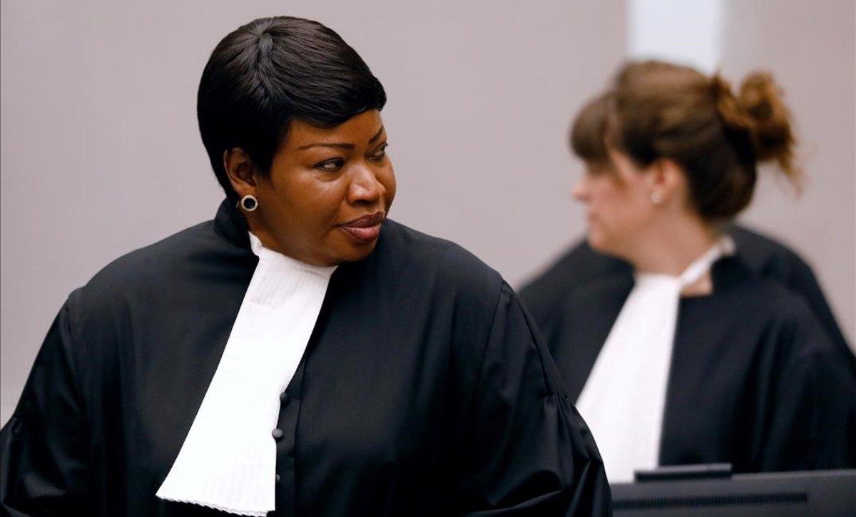 EEUU retira visado a la fiscal de Corte Penal Internacional
