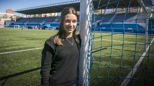 Cristina Mateo: «Com a àrbitra, ja no sento insults masclistes»
