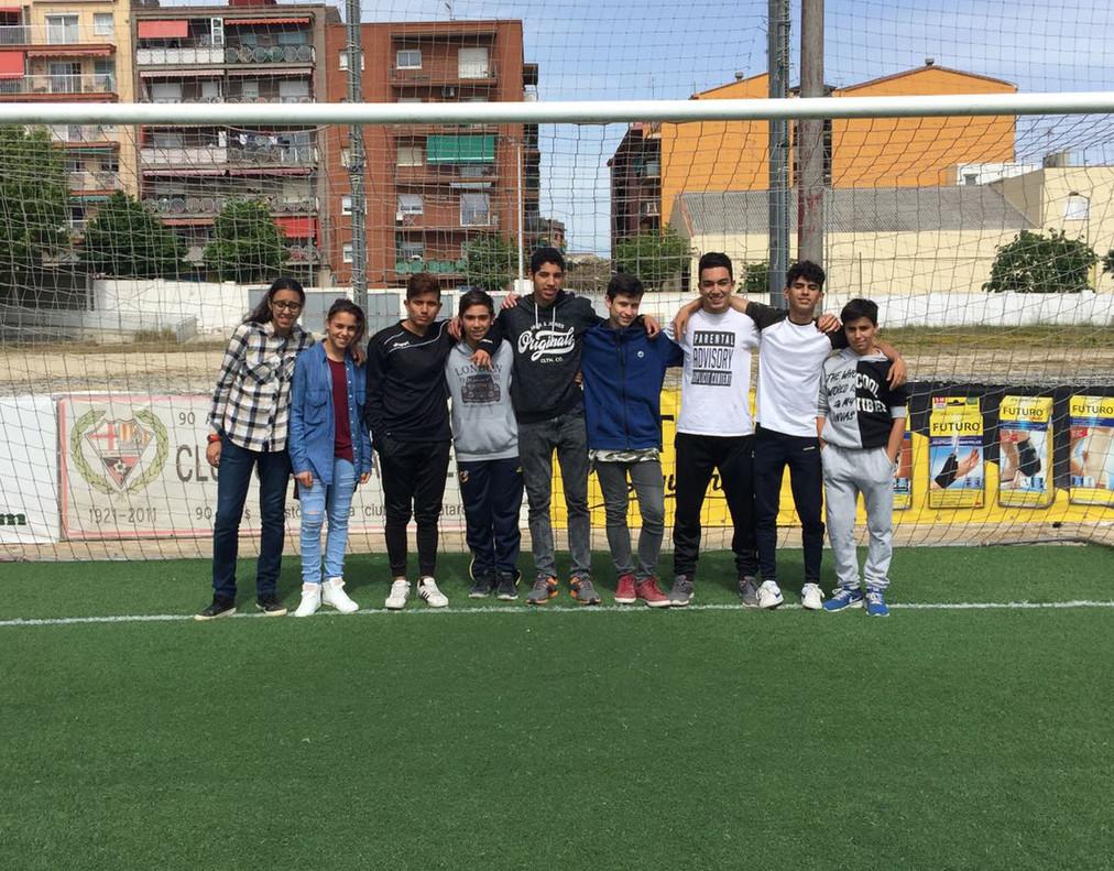 Jóvenes del proyecto Vitamina en Cerdanyola