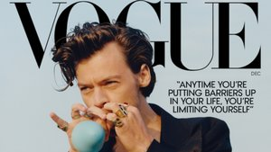 Harry Styles, primer home en acaparar la portada de 'Vogue'