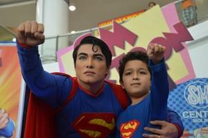 Herbert Chavez lleva 20 años mutando para parecerse a su superhéroe preferido.
