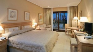 Un hotel de cinco estrellas en Madrid.
