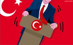 Todos contra el sultán Erdogan