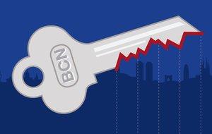 Los precios del alquiler en Barcelona tocan techo