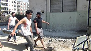 Imagen del documental premiado 'Return to Homs'.