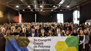 Inauguración del segundo Congreso Catalán de Pobreza Energética.