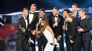 La ceremonia de los premios de la FIFA celebrada el año 2017 en Zúrich.