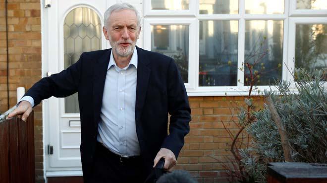 Jeremy Corbyn apoya la celebración de un segundo referéndum sobre el 'brexit'.