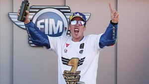 Joan Mir (Suzuki) se proclama campeón del mundo de MotoGP en Cheste.
