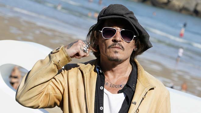 Johnny Depp apadrina en San Sebastián un documental sobre el líder de Pogues.