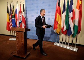 El representante de Estados Unidos ante el Consejo de Seguridad de la ONU, Jonathan Cohen.
