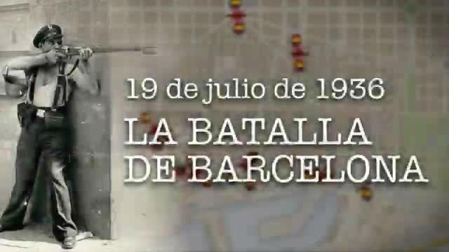 19 de juliode1936. La batalla de Barcelona (VÍDEO)
