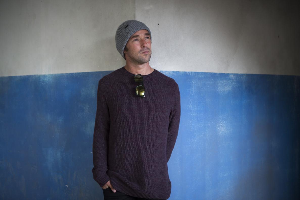 El surfista vasco Kepa Acero, el pasado 25 de marzo en Barcelona.