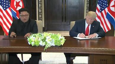 Trump y Kim, mucho teatro y poco acuerdo