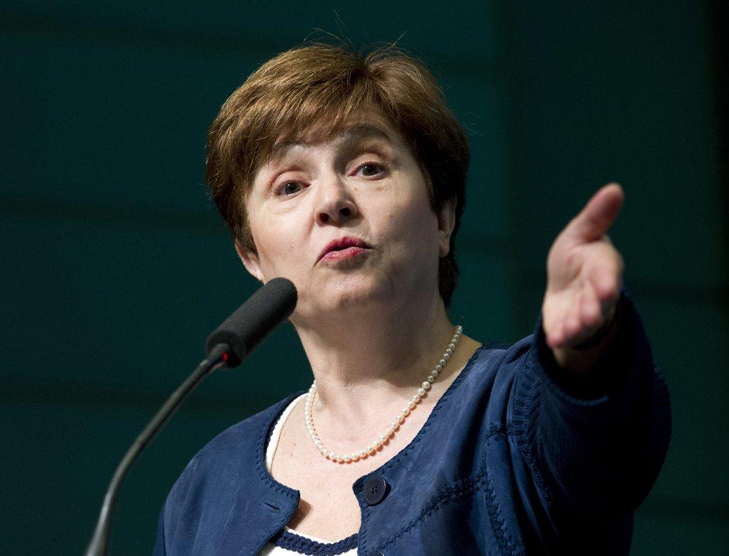 Kristalina Georgieva, presidenta del FMI.