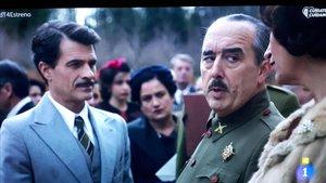 «¡Salveu Franco!», crida el ministre