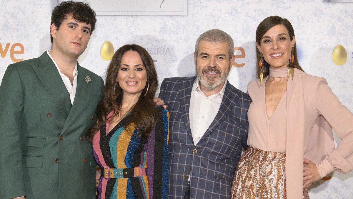 Palomo Spain, María Escoté, Lorenzo Caprile y Raquel Sánchez Silva.