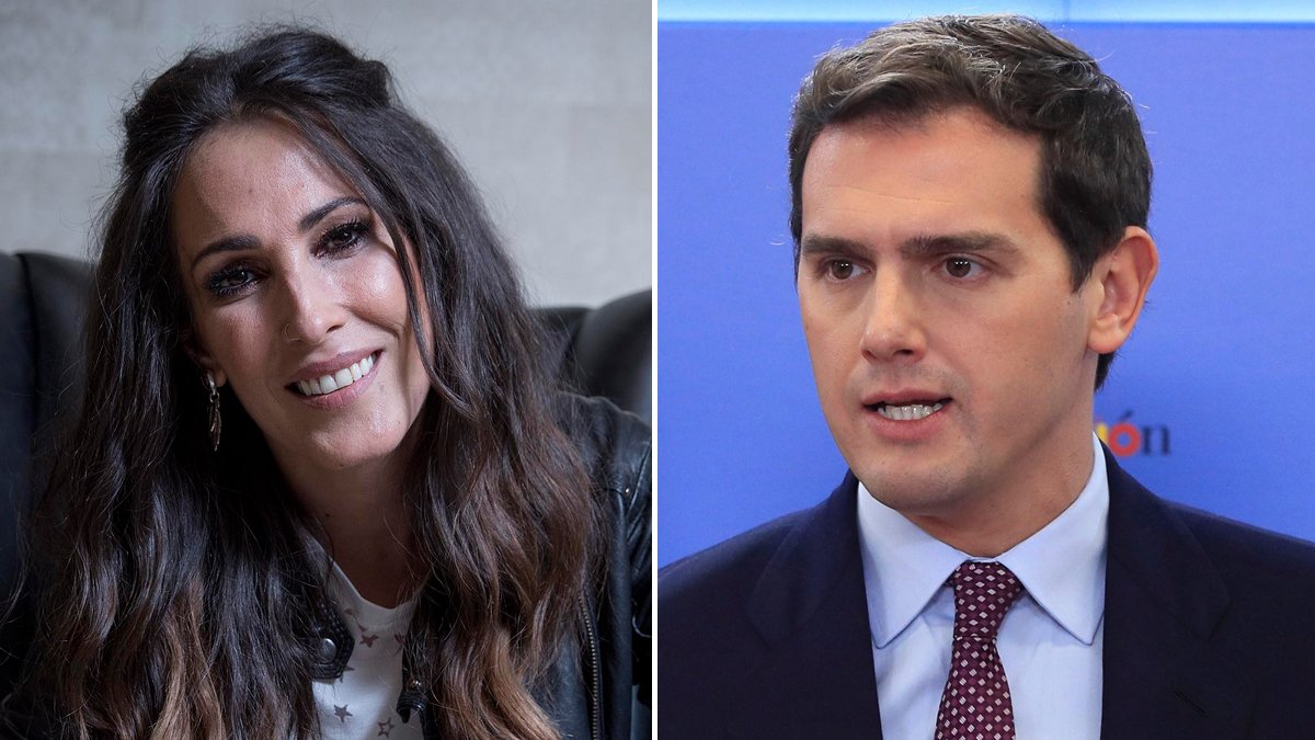 Malú y Albert Rivera.