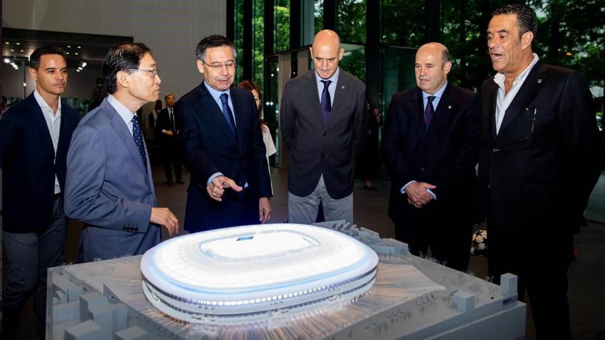 """El nuevo Camp Nou: """"Rectificar es de sabios"""""""