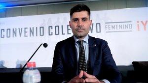 David Aganzo, presidente de la AFE.