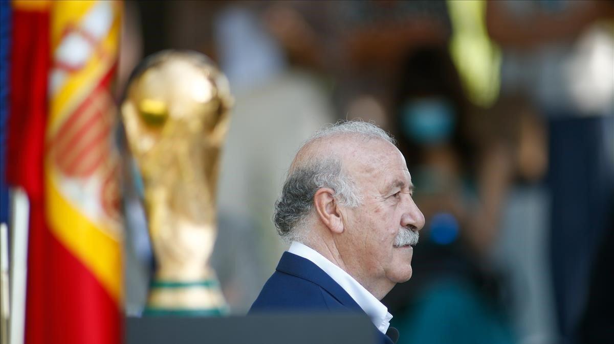 Del Bosque rememora la conquesta del Mundial: «Hi estàvem predestinats»