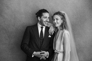 Marta Ortega y Carlos Torretta, el día de su boda.