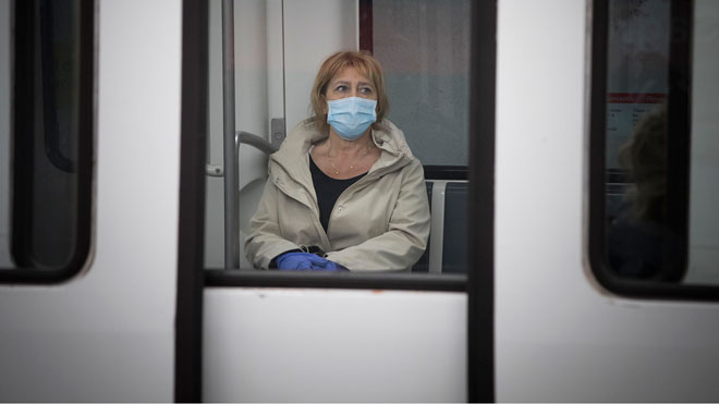 L'ús de mascaretes serà obligatori al transport públic des del 4 de maig
