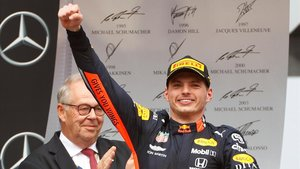 Max Verstappen (Red Bull) gana el GP de Alemania en Hockenheim