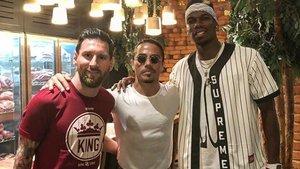 Messi coincideix amb Pogba al restaurant del popular xef Nusret Gökçe a Dubai