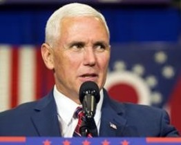 Mike Pence (vicepresidente).