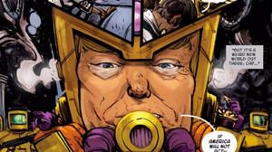 MODAAK, el nuevo villano de Marvel, guarda un sospechoso parecido con el republicano Doanld Trump.