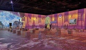 Aspecto actual de la exposición dedicada a Monet.