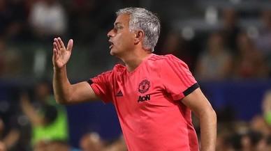 Rajada de Mourinho contra sus jugadores