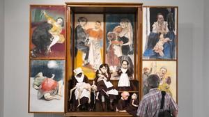 Oratorio, de Paula Rego, en la exposición de La Virreina.