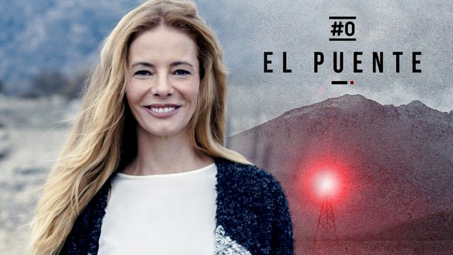 Paula Vázquez, presentadora de El Puente en #0.